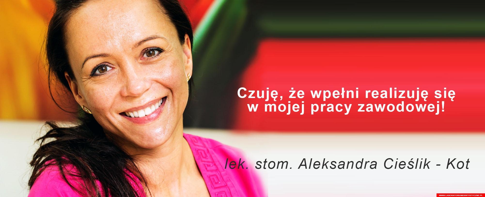 Aleksandra Cieślik Kot – Laboratorium Dentystyczne